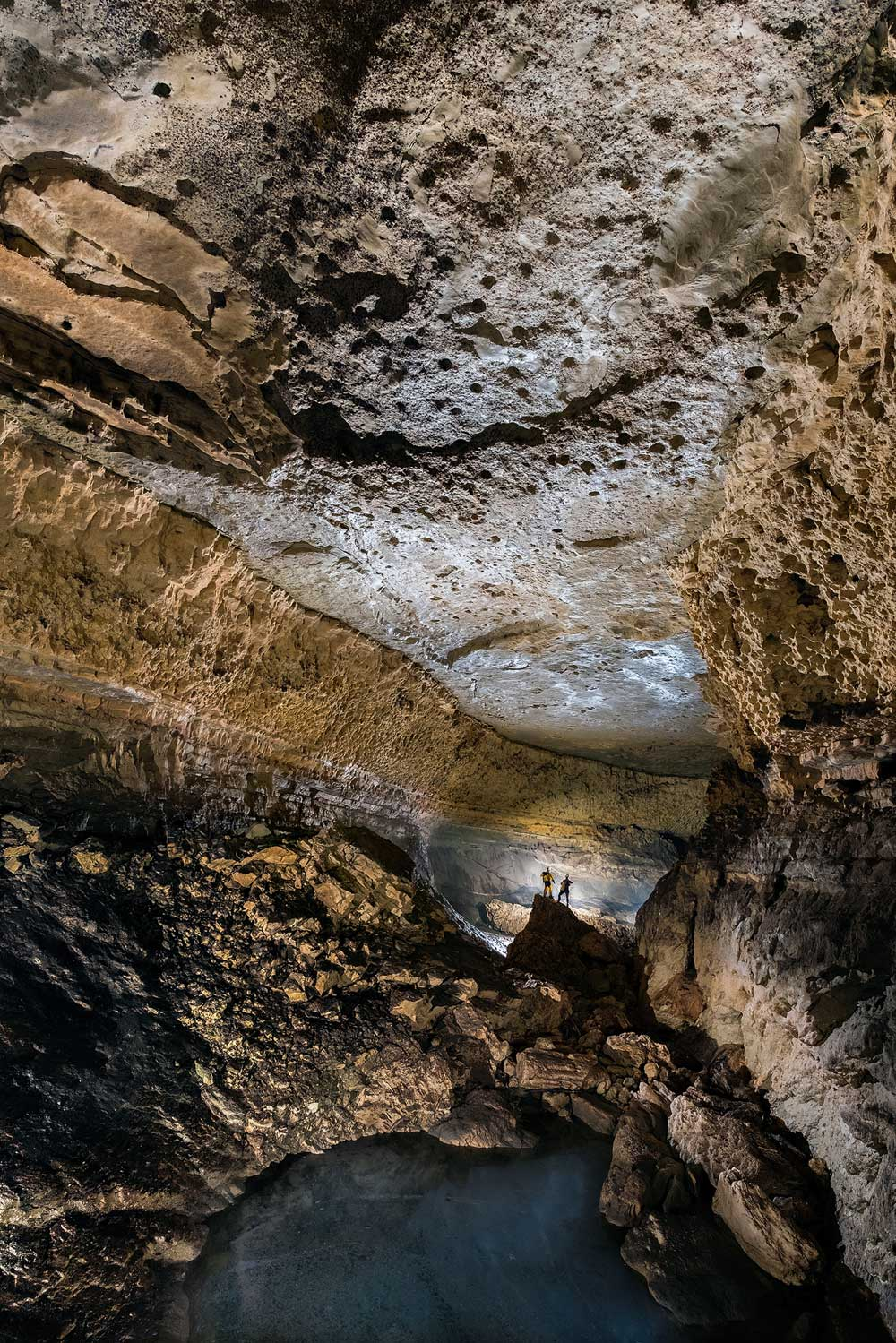 La grotte de Tubagua, interminable exploration ! (photo Rémi Flament)